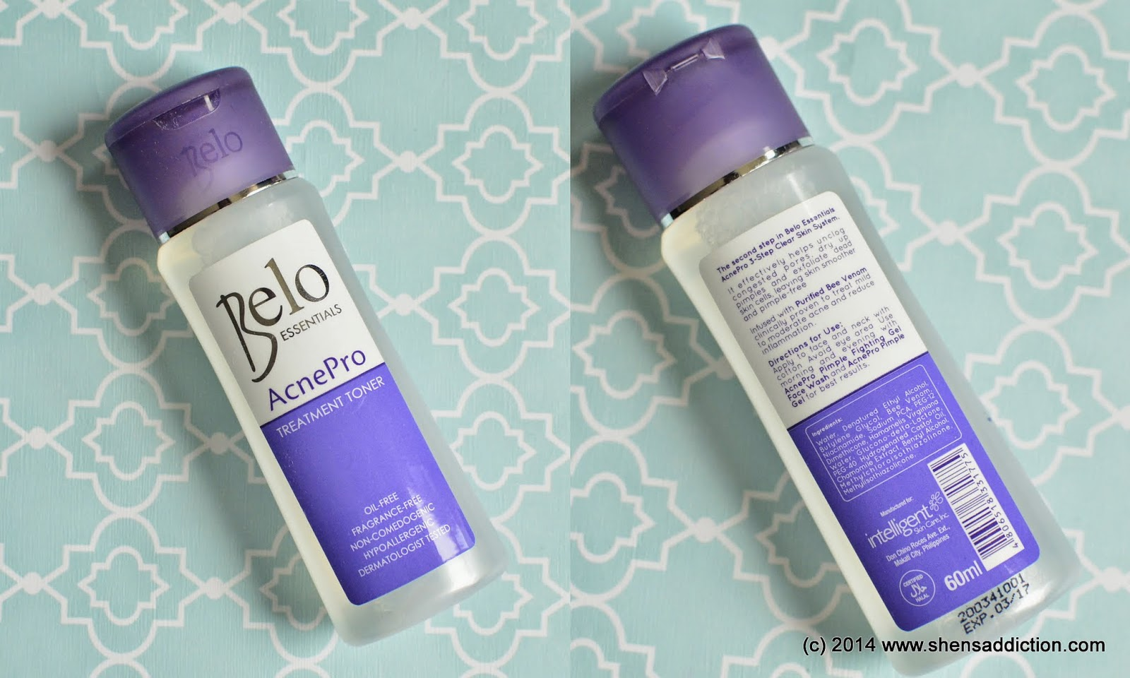 The Uncurated Life Product Review Belo Essentials Acnepro 3 Step Toner 60ml Treatment Php 7975