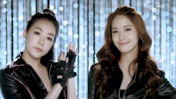 SNSD Mr. Taxi Split Screen Tiffany Yoona