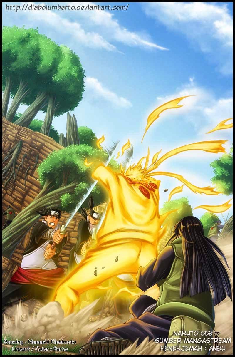 Top Wallpaper Naruto Art - naruto%2Bmelindungi%2Bhinata  Collection_21821.jpg