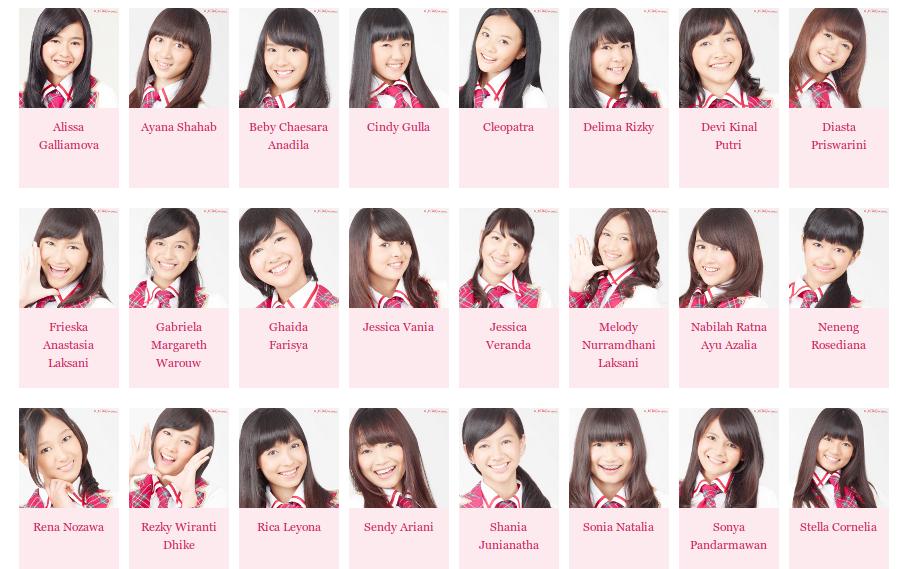 berikut foto foto grup idola jkt48 jkt48 iklan pocari sweat di youtube