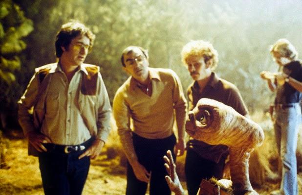 E.T. el extraterrestre detrás de las cámaras