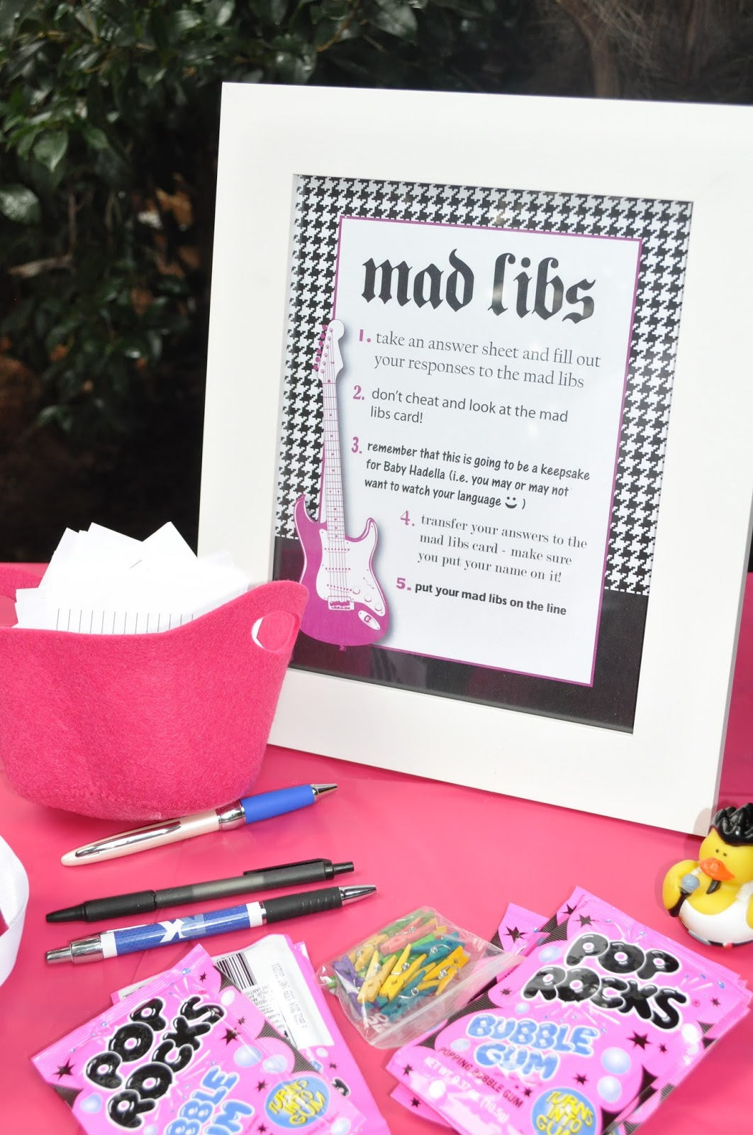 rkDesigns: Rock-a-Bye Baby Girl Baby Shower