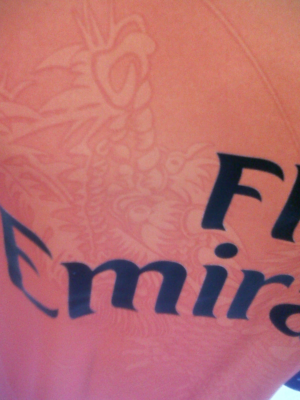 Detail Naga pada jersey GK Real Madrid 3rd 2014/2015
