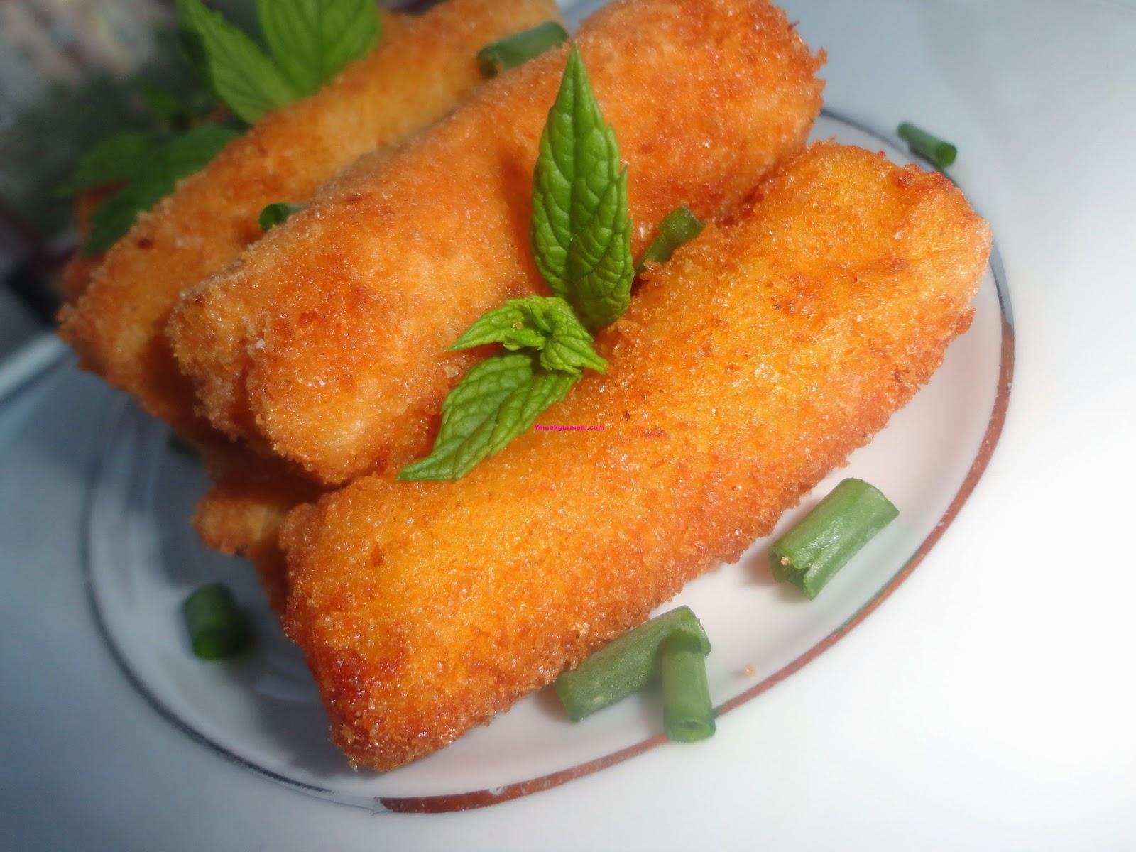 Kaşarlı Patates Kroket Tarifi