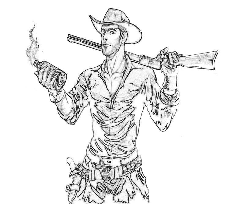 printable-red-dead-redemption-character-coloring-pages