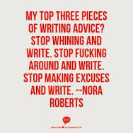 Writing Quotes by Nora Roberts