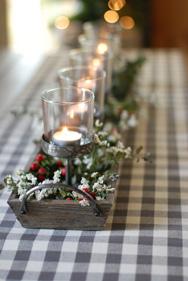 Make  A Farm Table Centerpiece