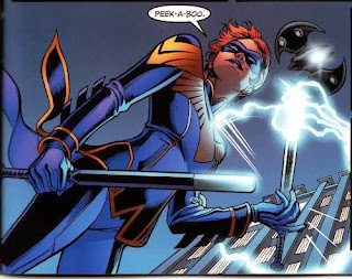 Barbara Gordon as a female Nightwing
