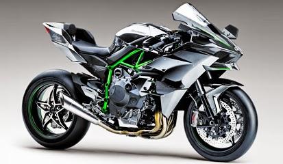 Kawasaki Ninja H2R Terbaru 2015
