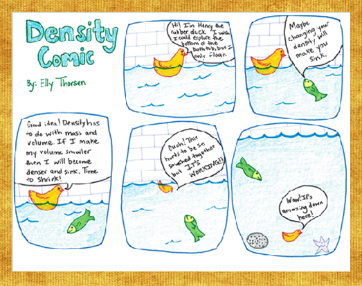 Density Comic