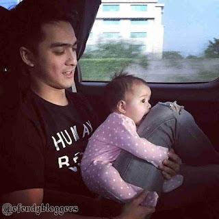 Foto Ricky Harun Dengan Anaknya