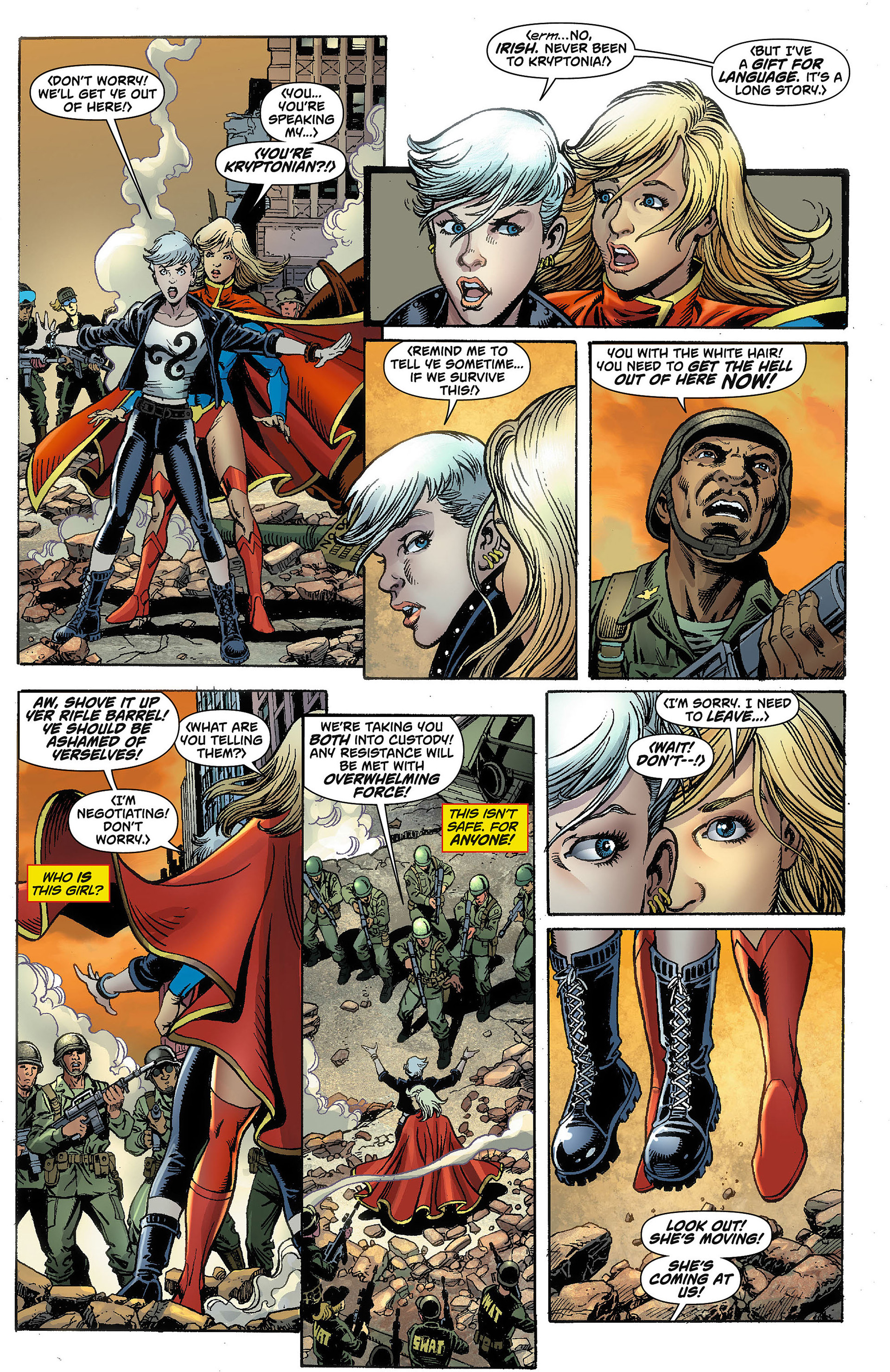 Supergirl (2011) Issue #8 #10 - English 4