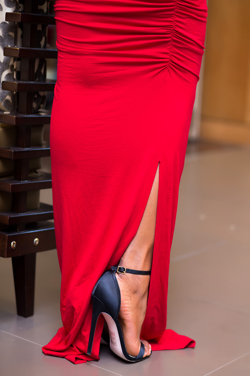 asos heeled sandals, red dress, www.jadore-fashion.com