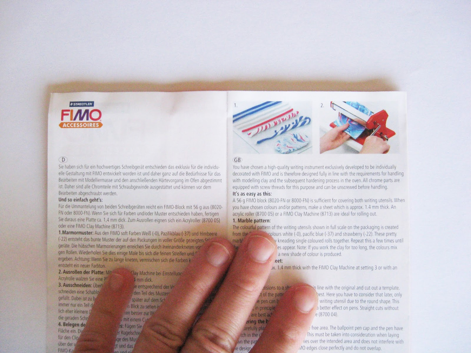 stylos staedtler fimo