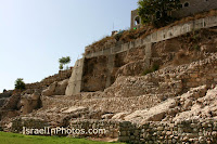 Warrens Shaft, Gihon Spring, Hezekiah's Tunnel,Canaanite Channel,Kidron Valley