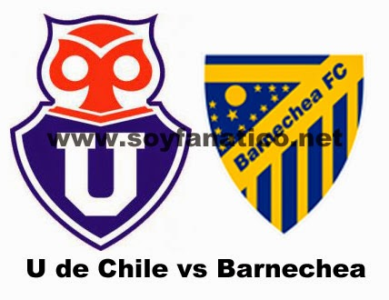 U de Chile vs Barnechea 2015