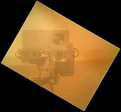 Камера марсохода Curiosity