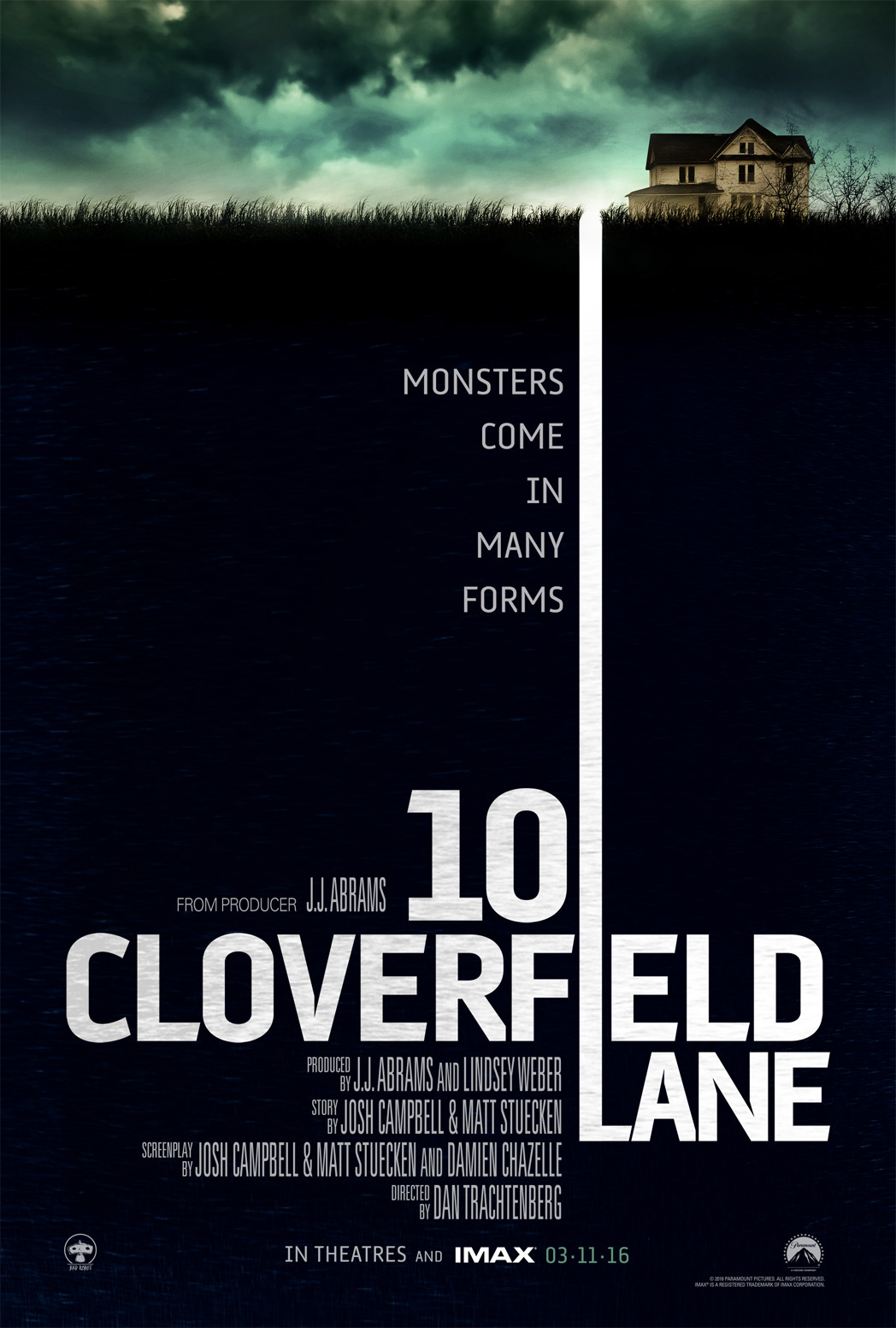Rua Cloverfield, 10 – Full HD 1080p – Legendado