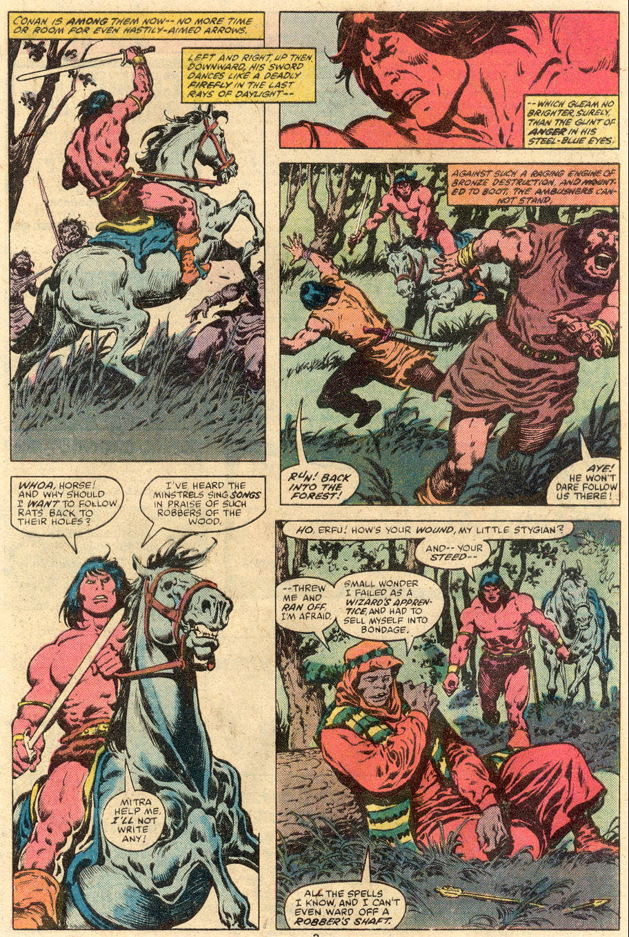 Conan the Barbarian (1970) Issue #113 #125 - English 4