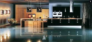 highly modular-ed ultra modern kitchen