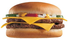 Mcdonald's Double Cheeseburger