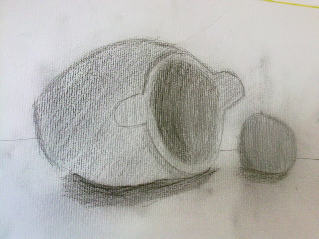 dibujo a lápiz de Teo