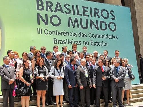 Conferencias das comunidades Brasileiros no exterior