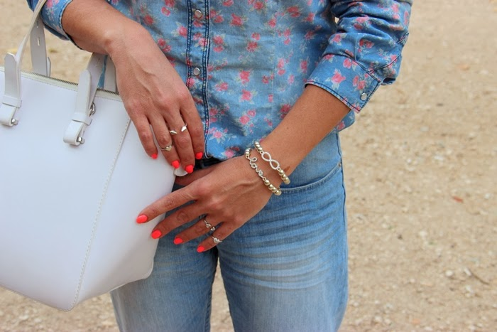 בלוג אופנה Vered'Style ג'ינס על ג'ינס