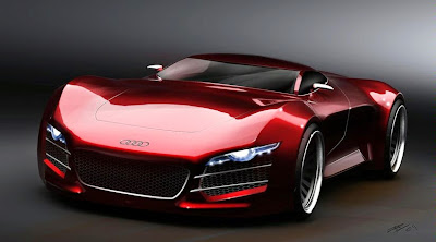 Most Popular Car And Motorcycle Audi Coolest Sports Cars - Red sports car