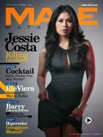 MALE Mata lelaki Edisi 73 Cover Model Sexy Jessie Costa