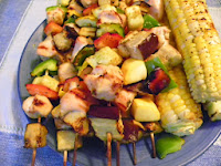 Grilled Chicken and Corn Recipe   Healthy Chicken Recipe