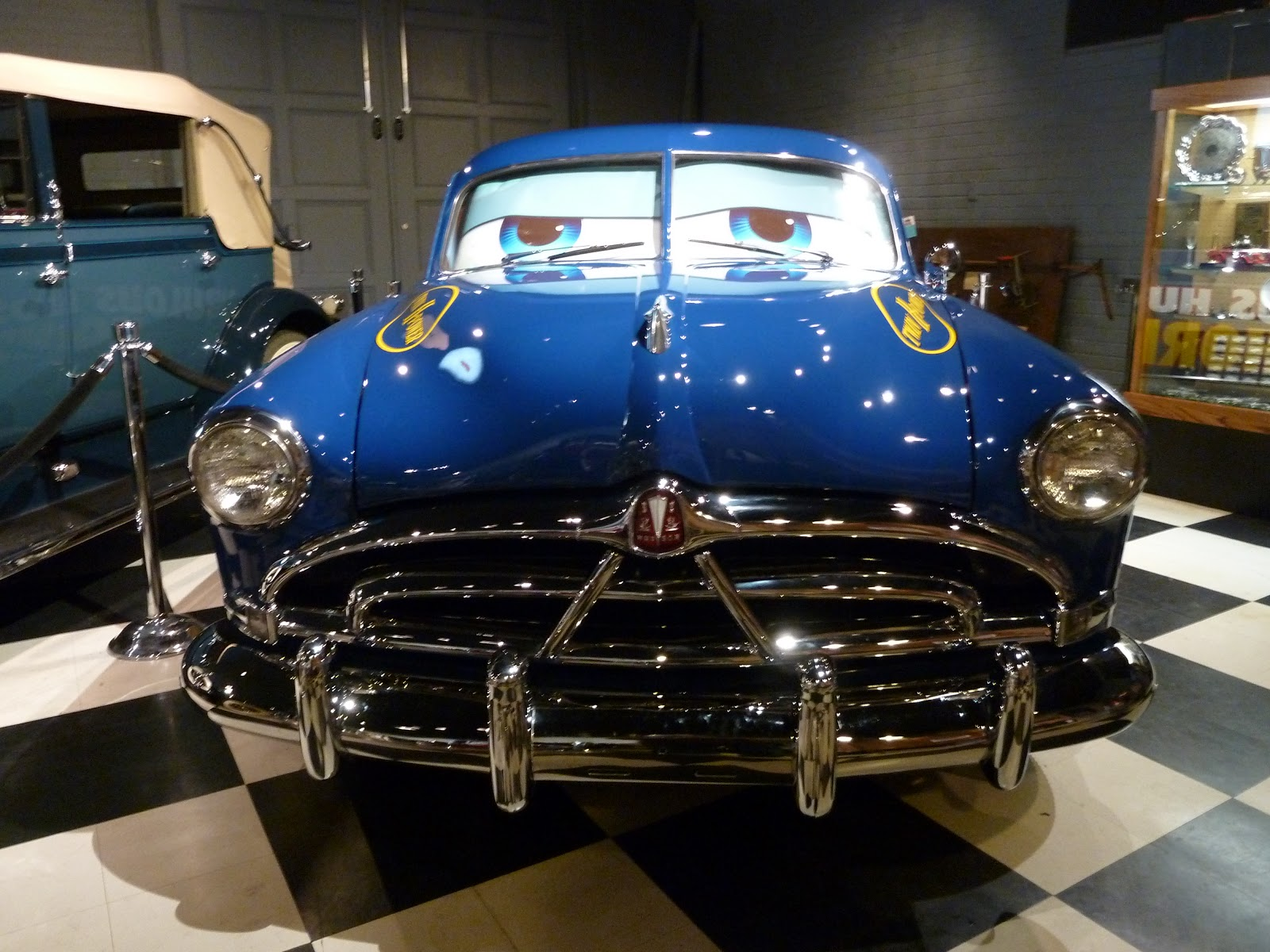 Doc From Cars Visits Union Station Museum - Pictures of really cool cars