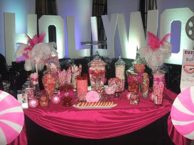 wedding candy station ideas