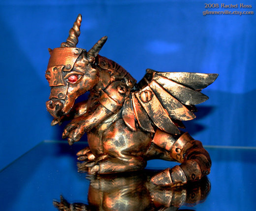 Copper Mech Dragon por NycterisA