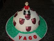 Bolo Bola do Flamengo