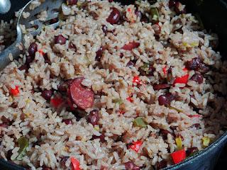 Receta de arroz congri oriental