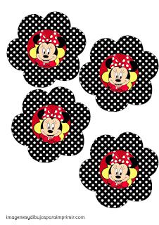 Toppers de minie mouse