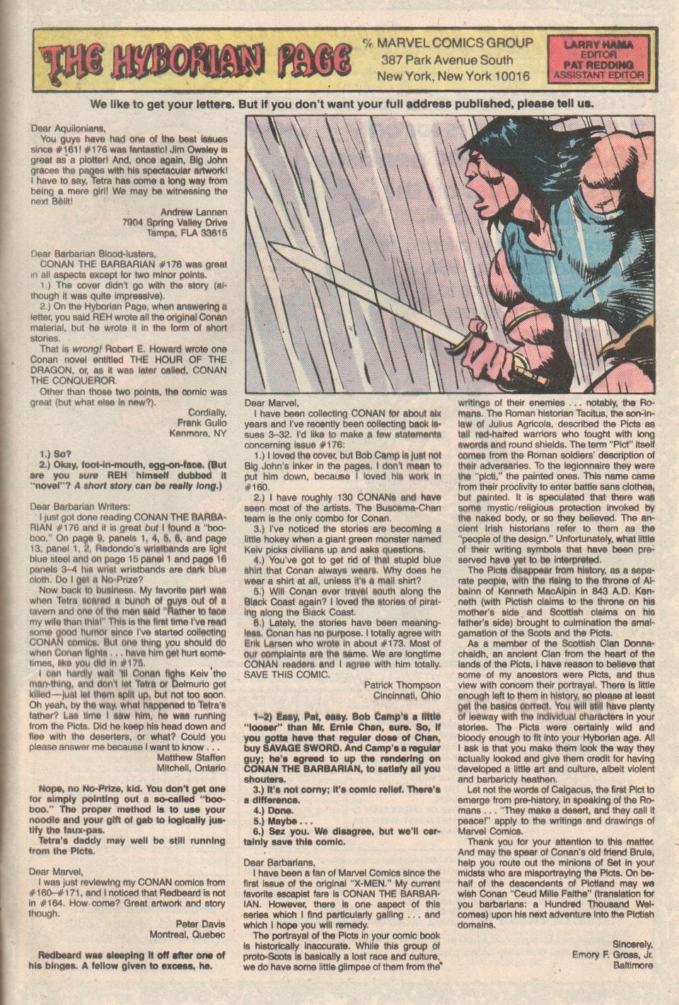 Conan the Barbarian (1970) Issue #180 #192 - English 24