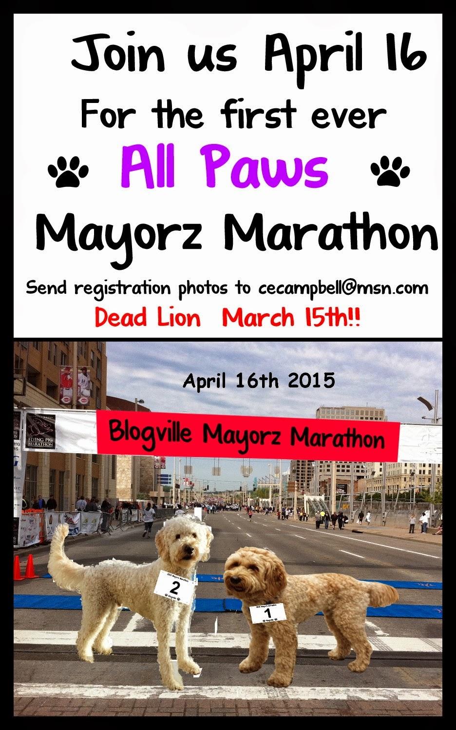 Blogville's first Marathon