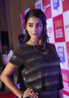 pooja hegde new photos at siima press meet