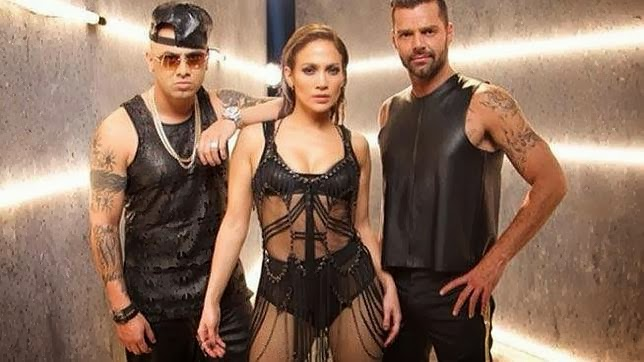 Wisin, Jennifer Lopez y Ricky Martin