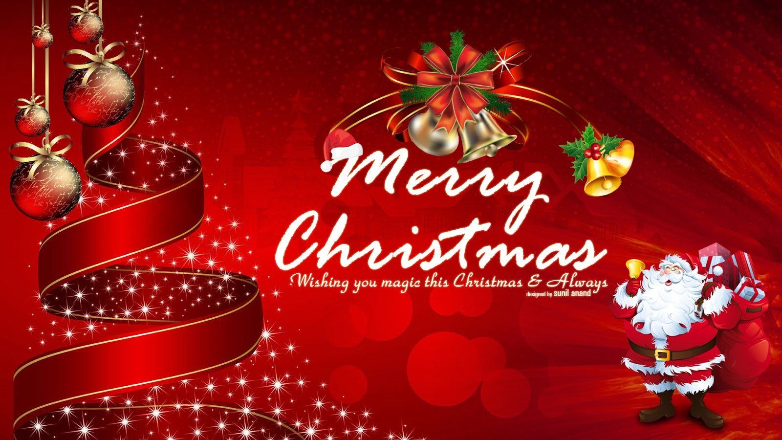 ek diwane ki kahani: merry christmas wallpapersunil anand