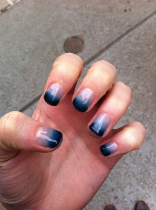 Christines blog ombre nails for Nageldesign ombre