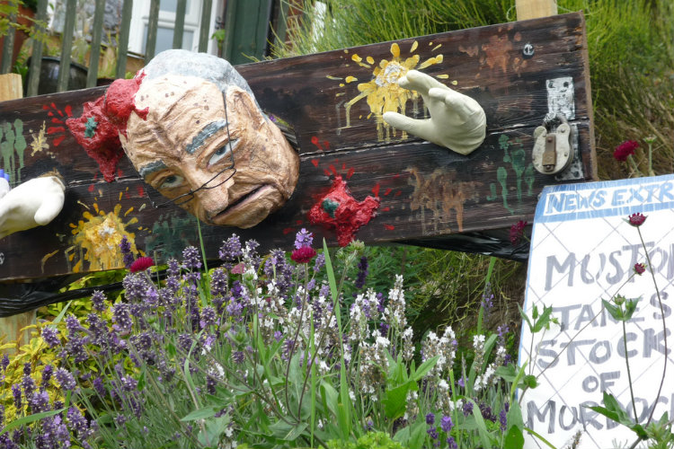 Muston Scarecrow Festival 30-7-11