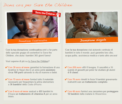 Donazioni Save The Children