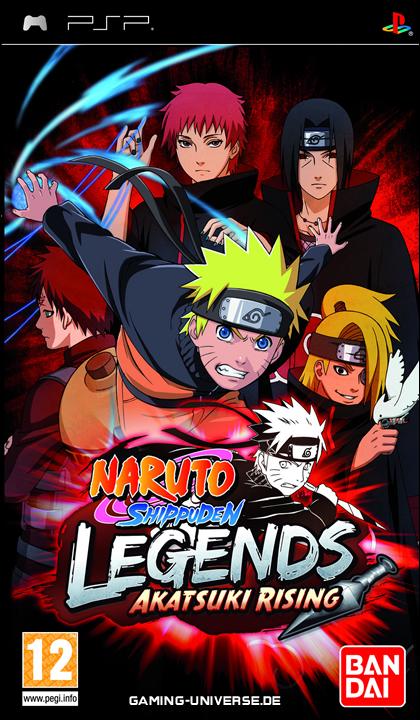 PSP - Naruto Shippuden: Legends: Akatsuki Rising - PPSSPP