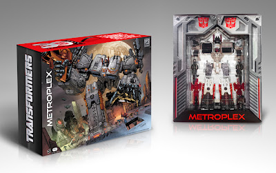 Hasbro Transformers Genrations SDCC 2013 Exclusive Metroplex