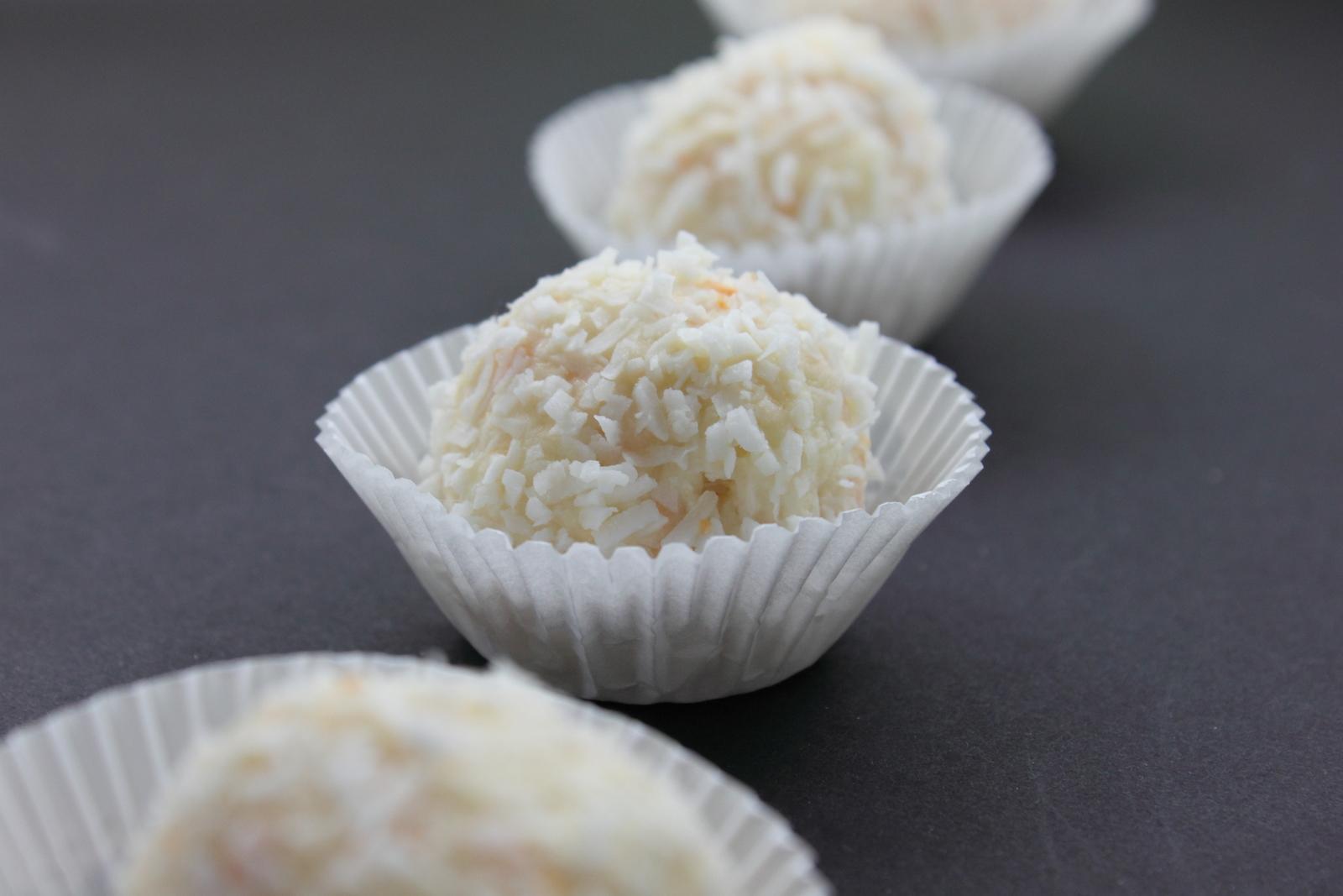 ... My favourite : Ferrero Raffaello clone (white chocolatey truffle