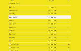 2 - Tips Mempercantik Tampilan Apache Directory Listing dengan Apaxy
