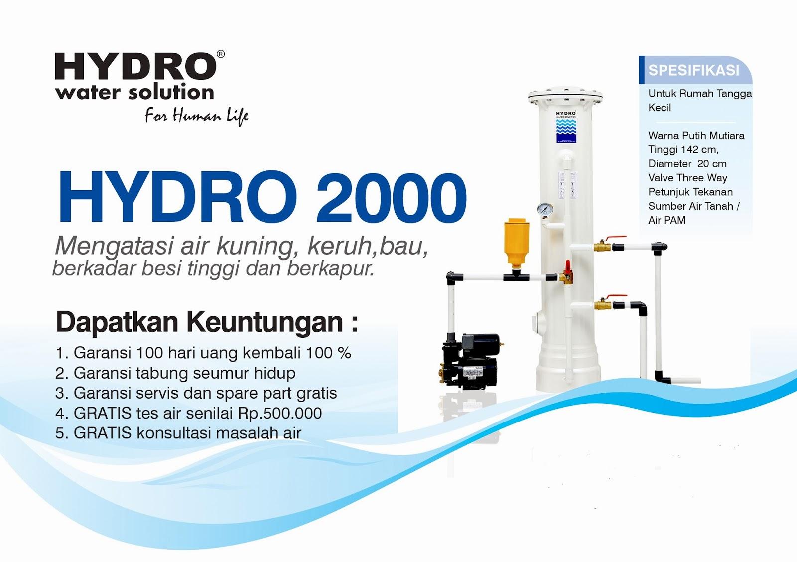 Filter Penyaring Air HYDRO 2000